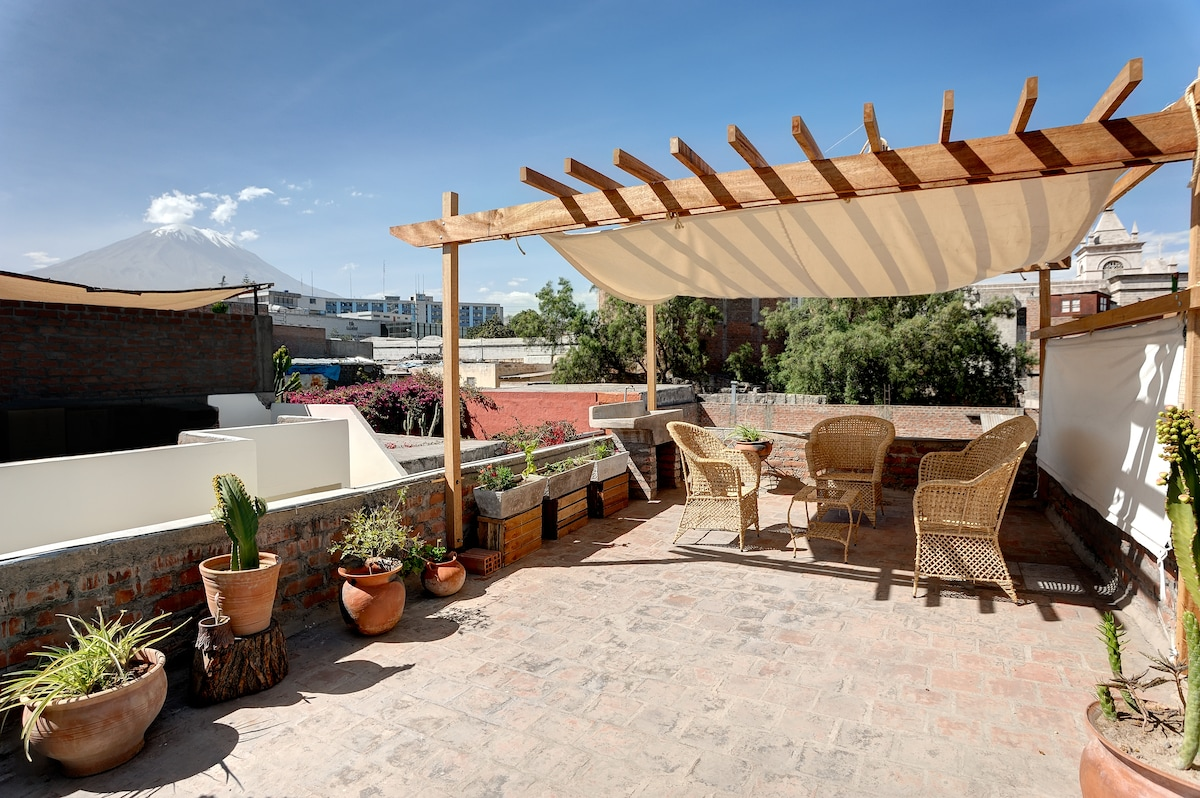 Amazing terrace & views!-Arequipa 1