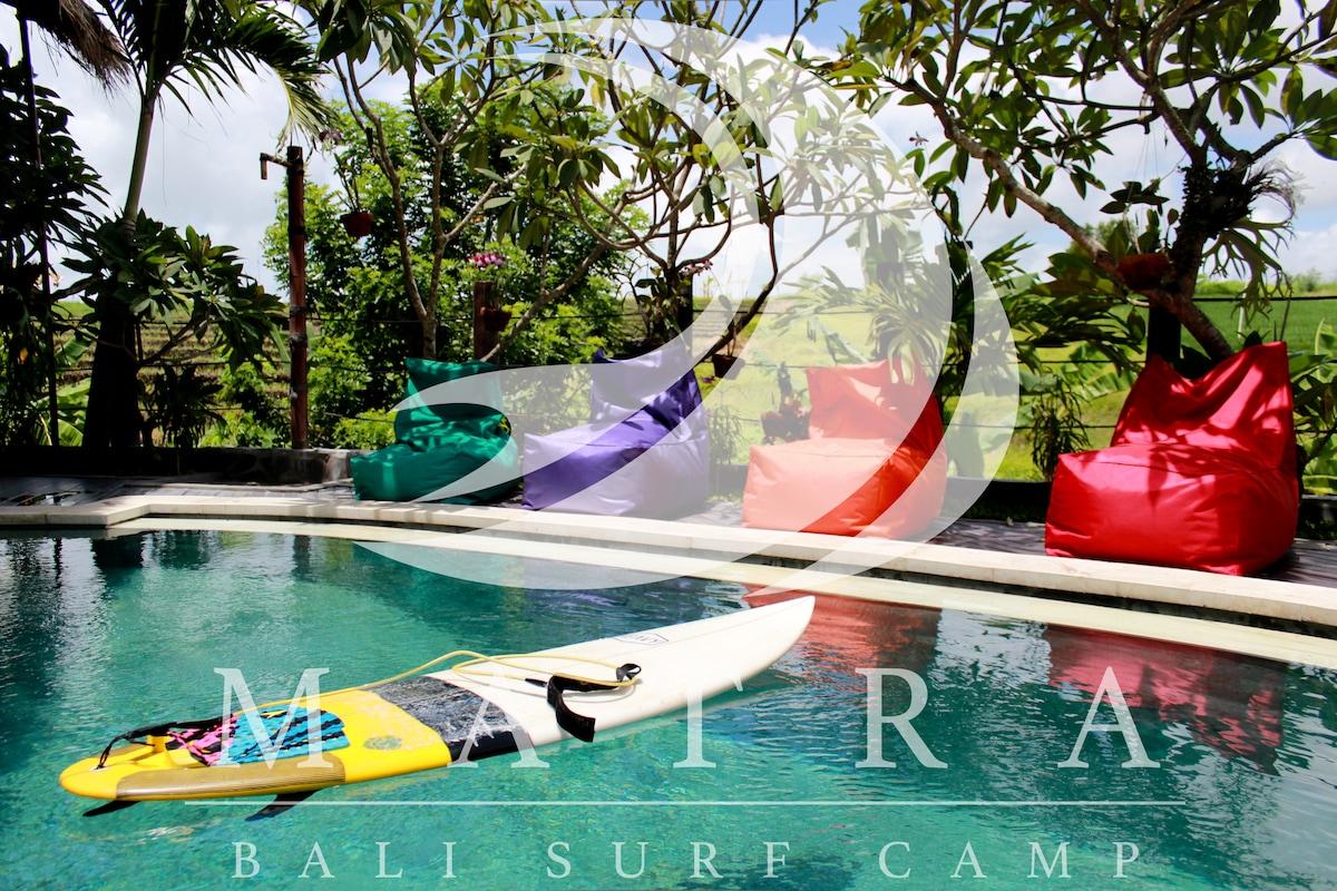 Cheap friendly surf stay in Canggu
