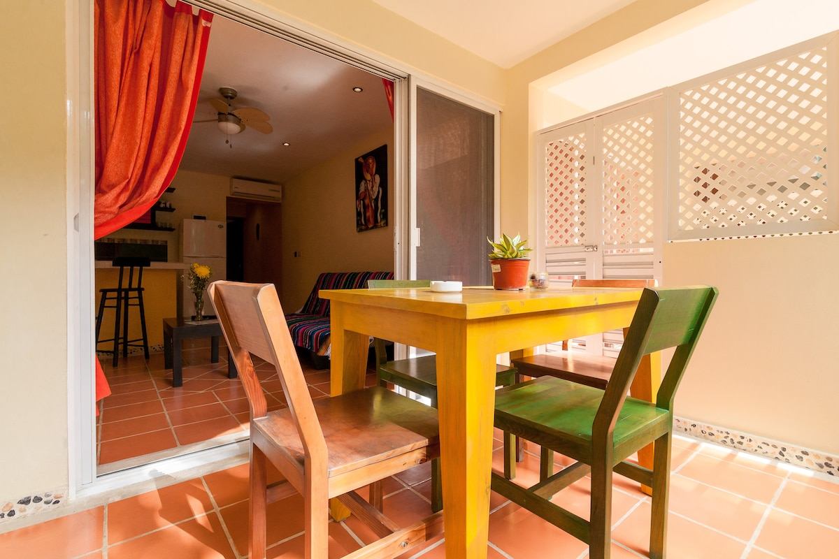 terraces can be opened to join twin apartment beside for families or friends sharing