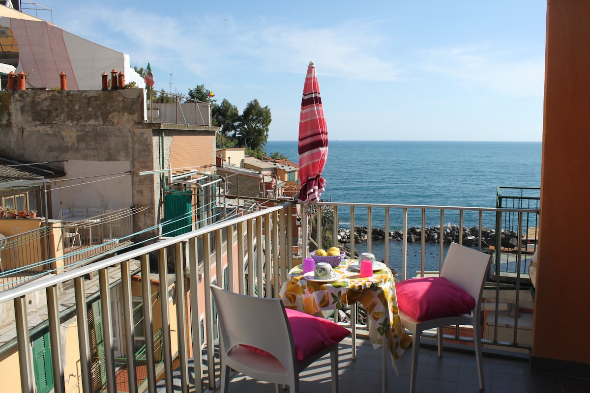 Amazing Apt. on the sea Riomaggiore