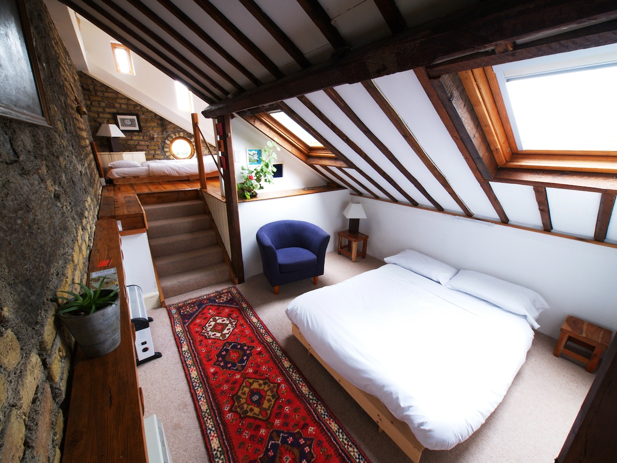Long Loft Room at The Bastion B&B