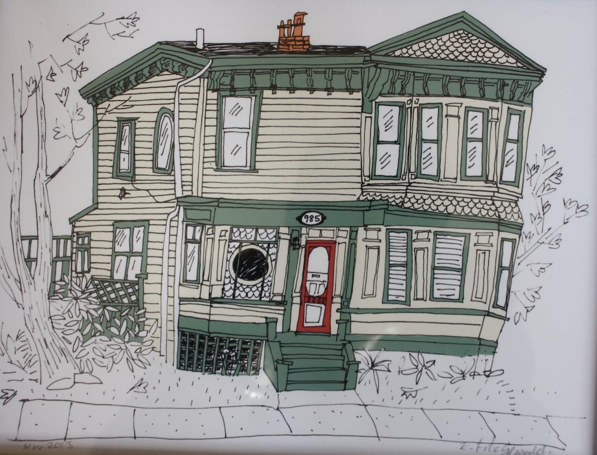 Exterior drawing