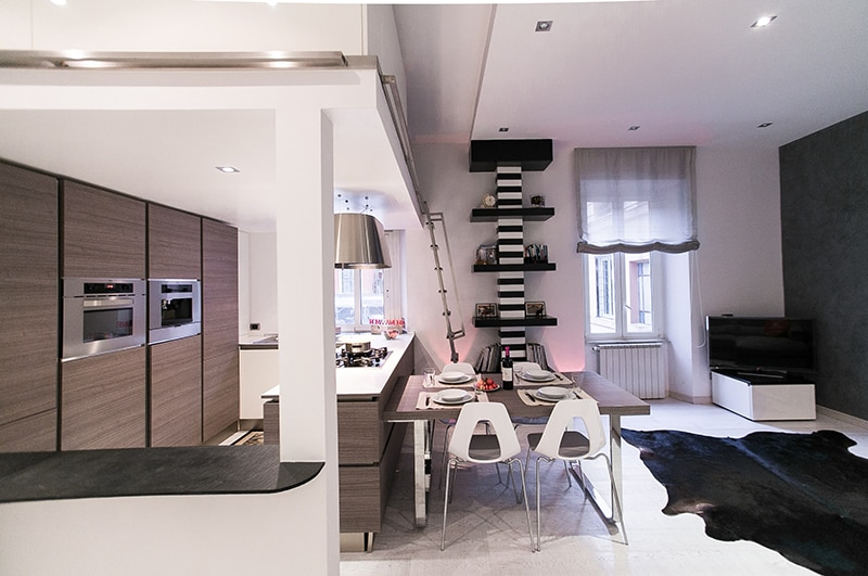 Design Apartment near Colosseum