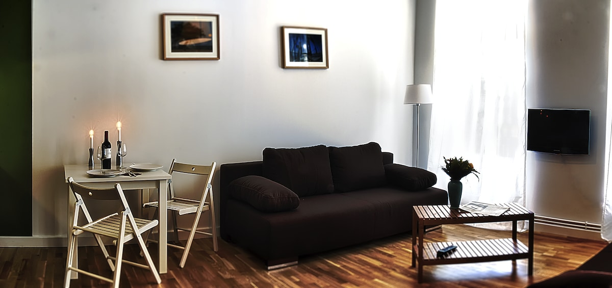 Apartment bei Tag