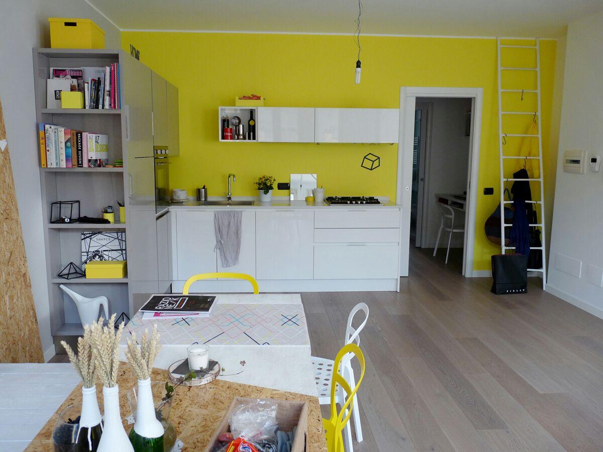 Appartamento minimal di design