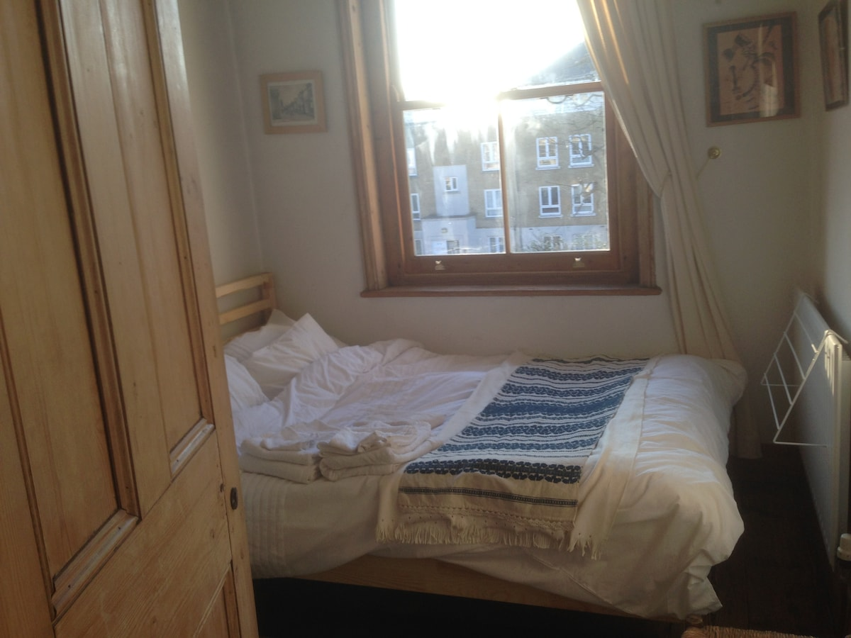 View from your bedroom to the outside. Double glazed windows