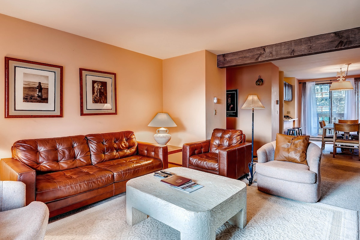 2BR Riverview Condo in Town  Aspen
