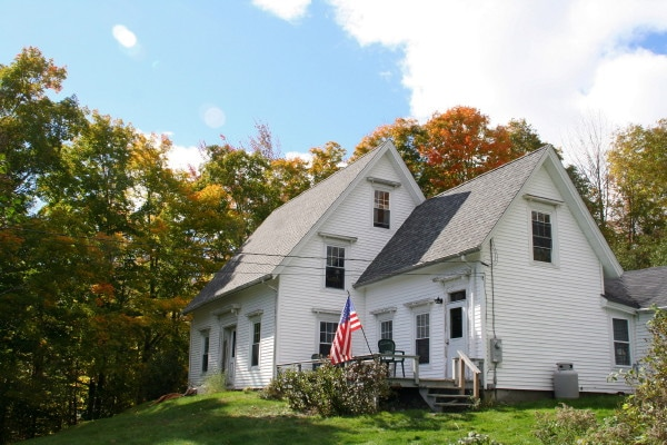 1820s Farmhouse in Lincolnville, Maine