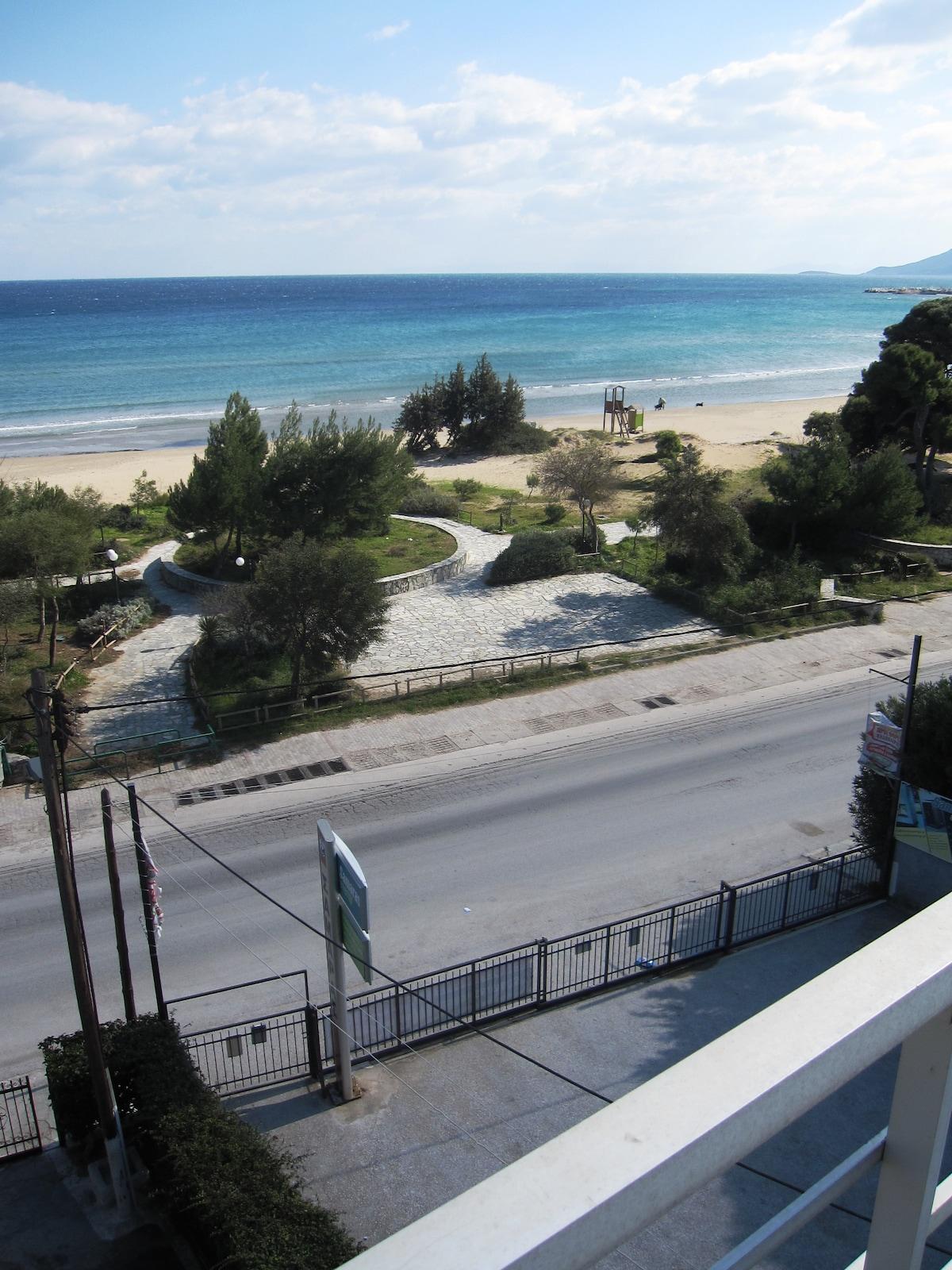 Artemida.Sea.Beach Flat-Slps 2/3