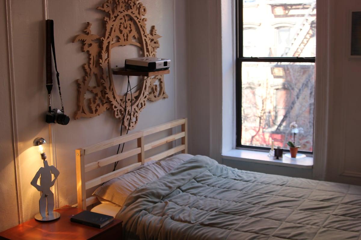 Spacious, Sunny East Village Room
