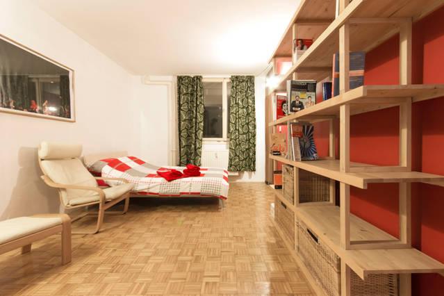 Spacious room on a nice location