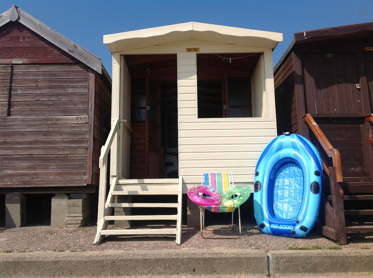 The beach hut!