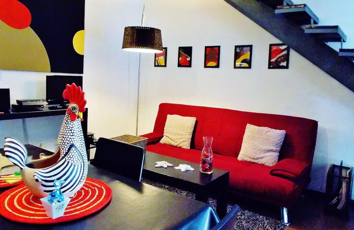 CASA NAAJ 3: Living room