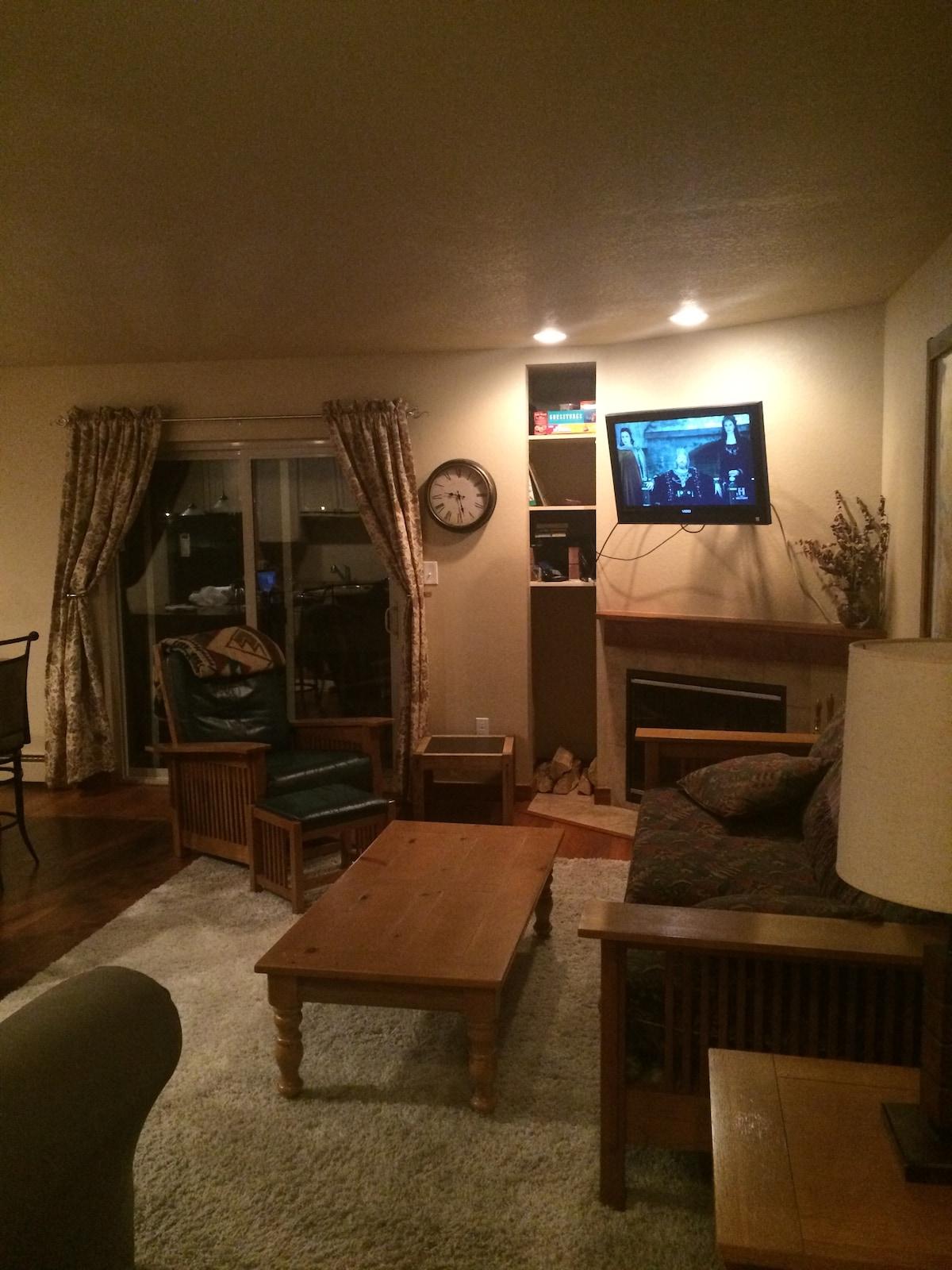 Winter Park 1 bedroom + loft VIEWS