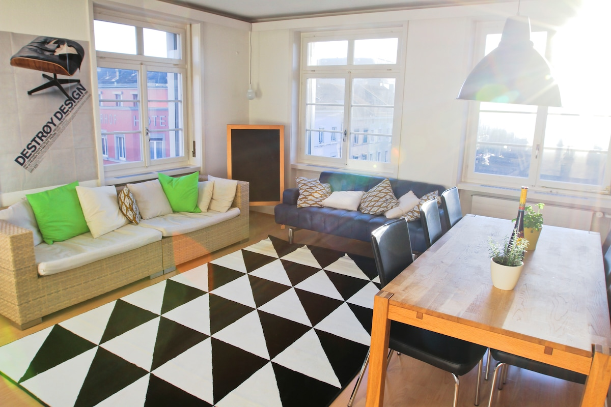 Large Apartment, 100m to the fair