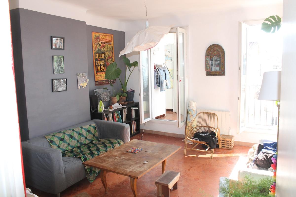 Chambre en colocation (La Plaine)