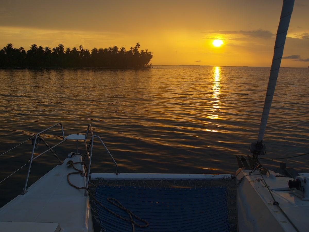 chambres d'hotes sur catamaran