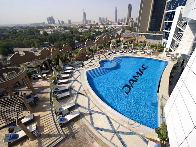 Beauty Place Next to Burj Khalifa
