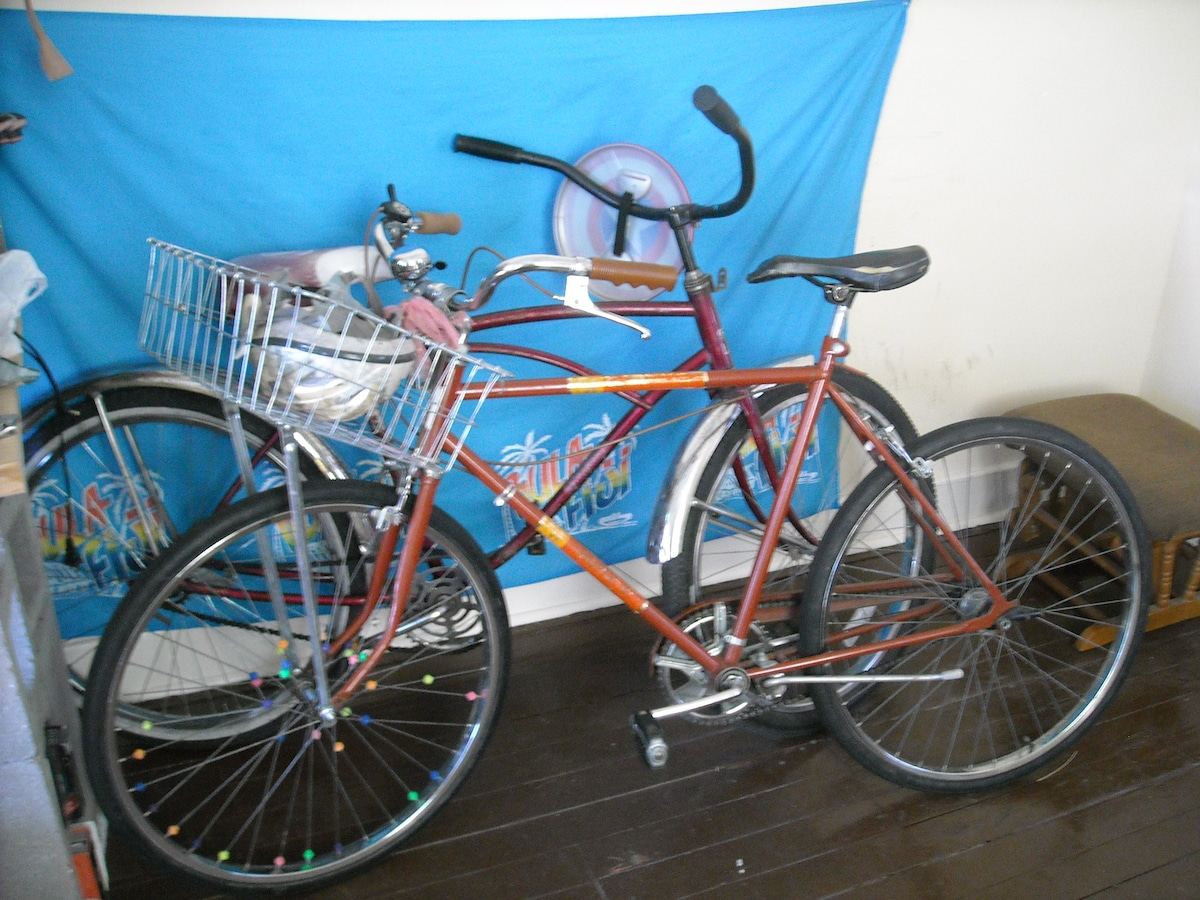 2 of the 3 bikes available.