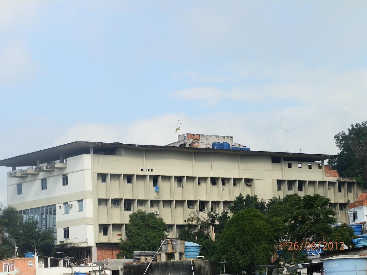 quartel do Batalhão da Polícia Militar (BOPE)