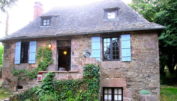 19th century country house france
