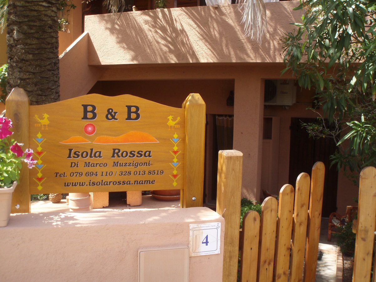 bed and breakfast Isola Rossa