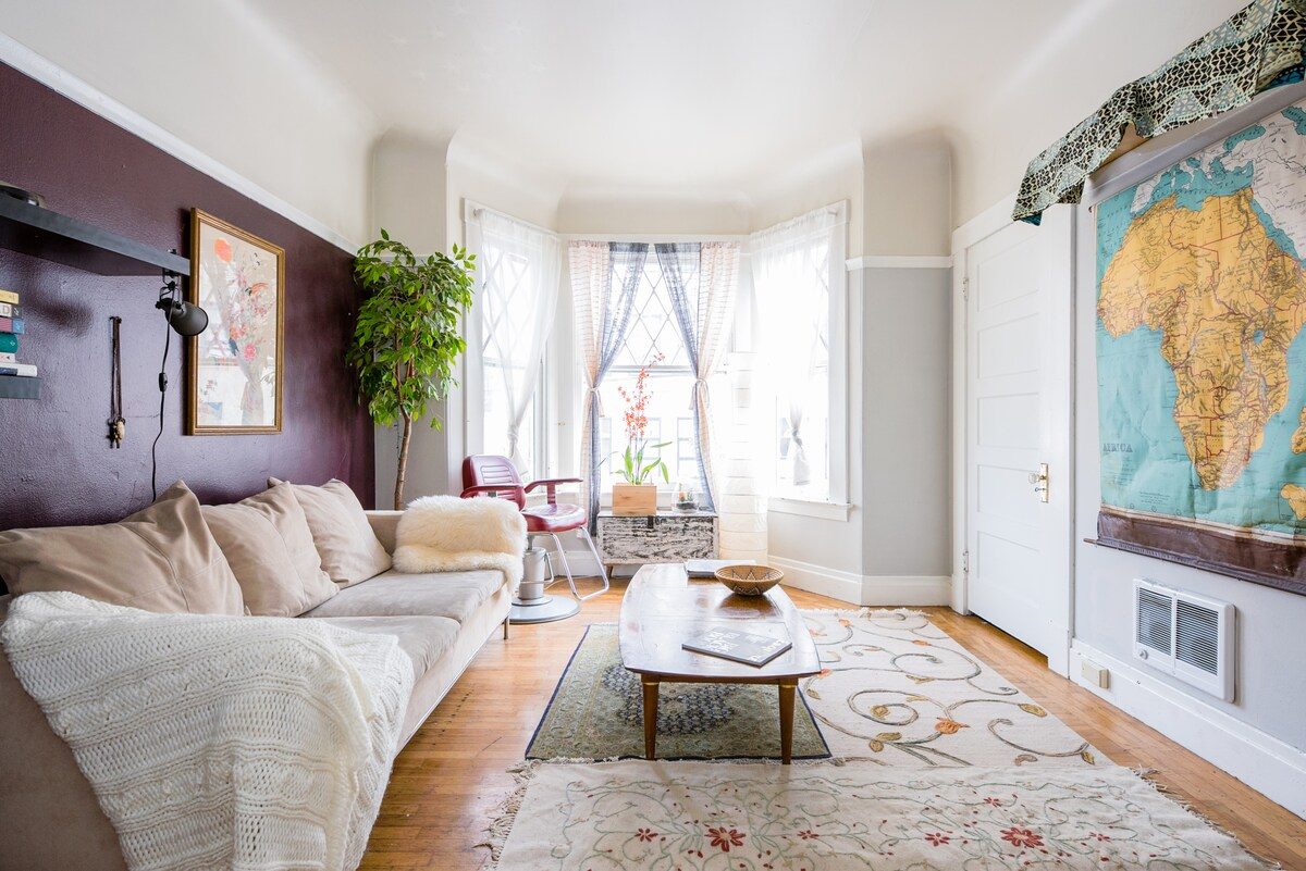 Charming Lower Haight Apartment