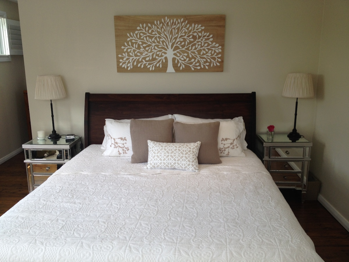 Master Bedroom with walk in robe and ensuite bathroom