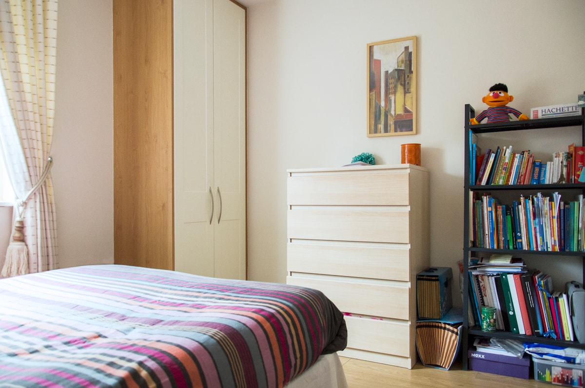 Bright double room close to Dublin