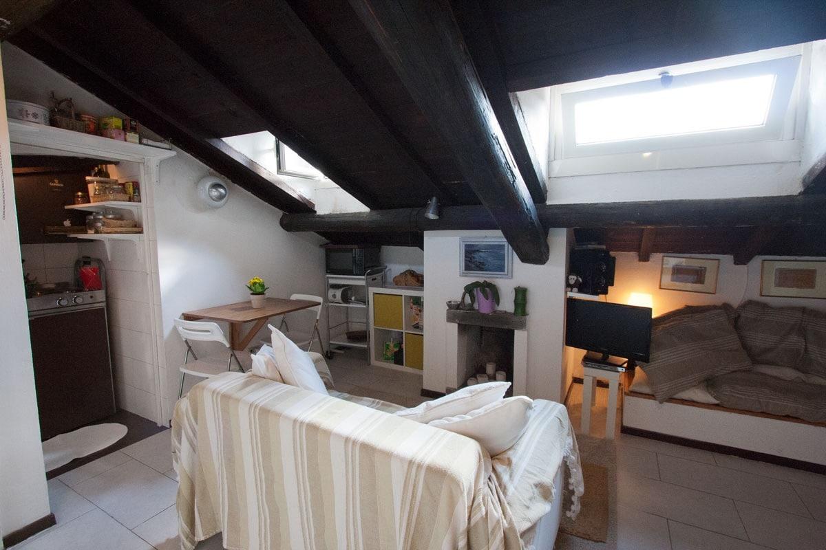 Romantic suite in Trastevere
