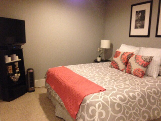 Bedroom with full bathroom avail.