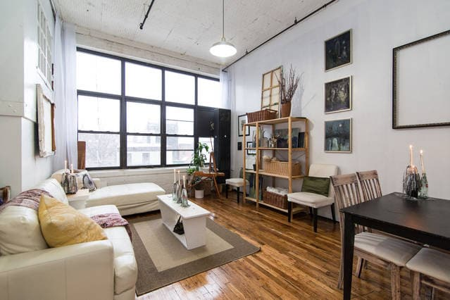 The Library Loft's White Room