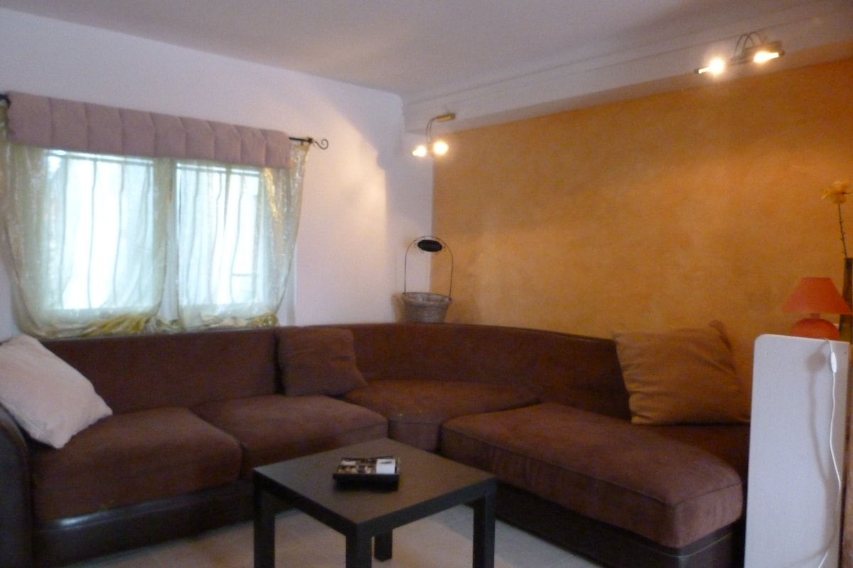 Salon neuf, canapé d'angle