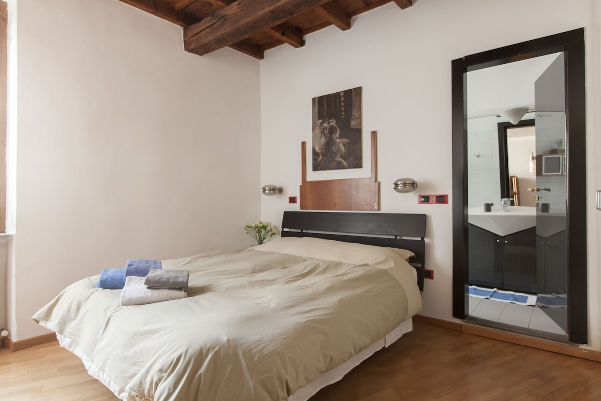 Double Room, Old Brera, Pvt bath