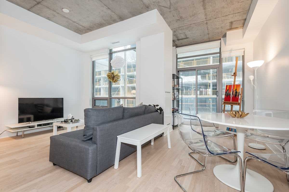 Beautiful Upscale 1 bed Luxury Loft