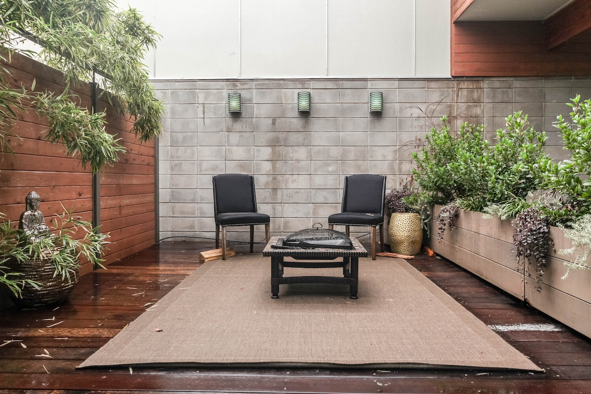 Zen Retreat in the Heart of Austin