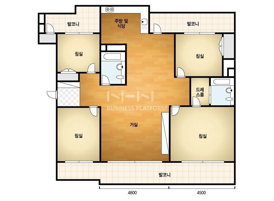 둔산동 42평 아파트 전체 단독사용