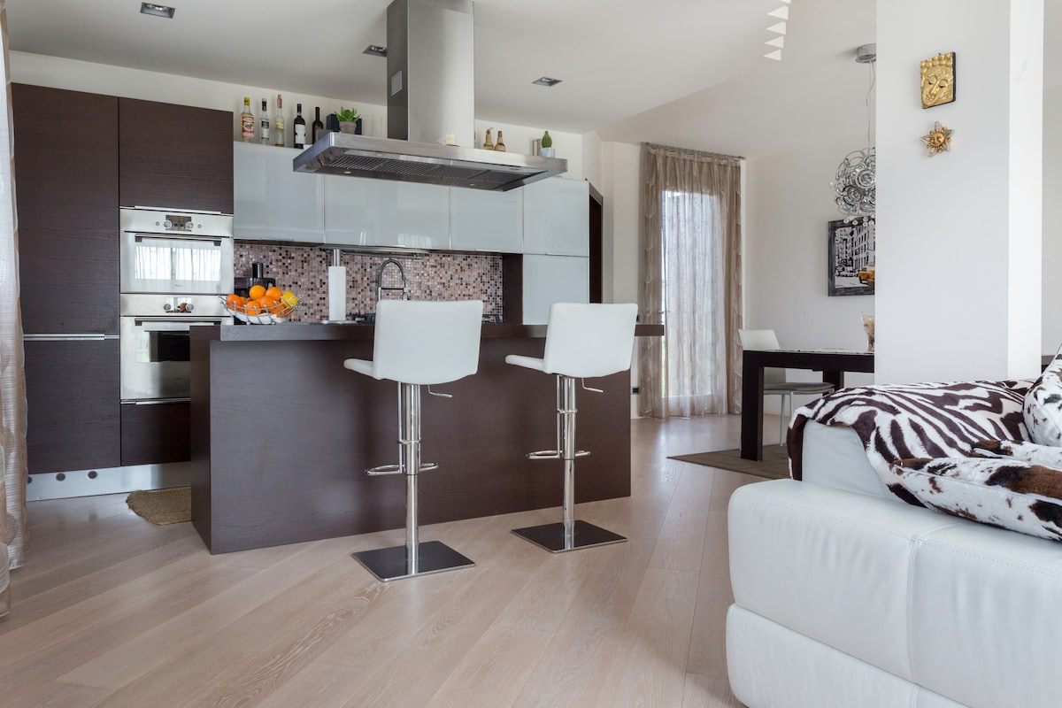Casa moderna  ed accogliente