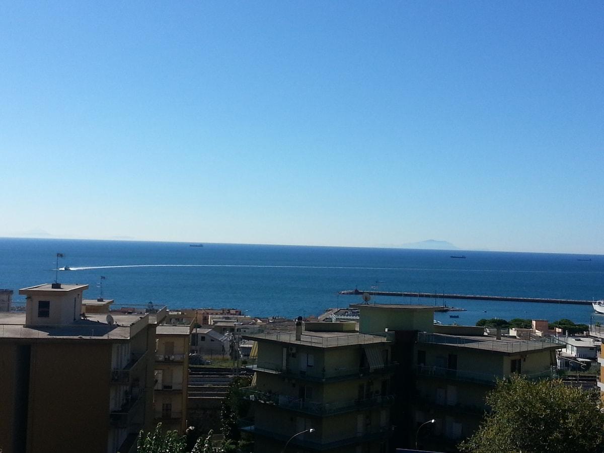 amazing view of Gaeta's Gulf