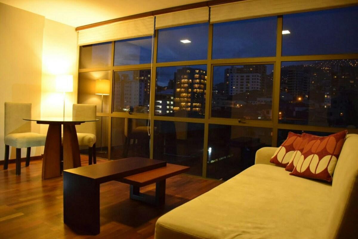 Depto de un dormitorio en Sopocachi