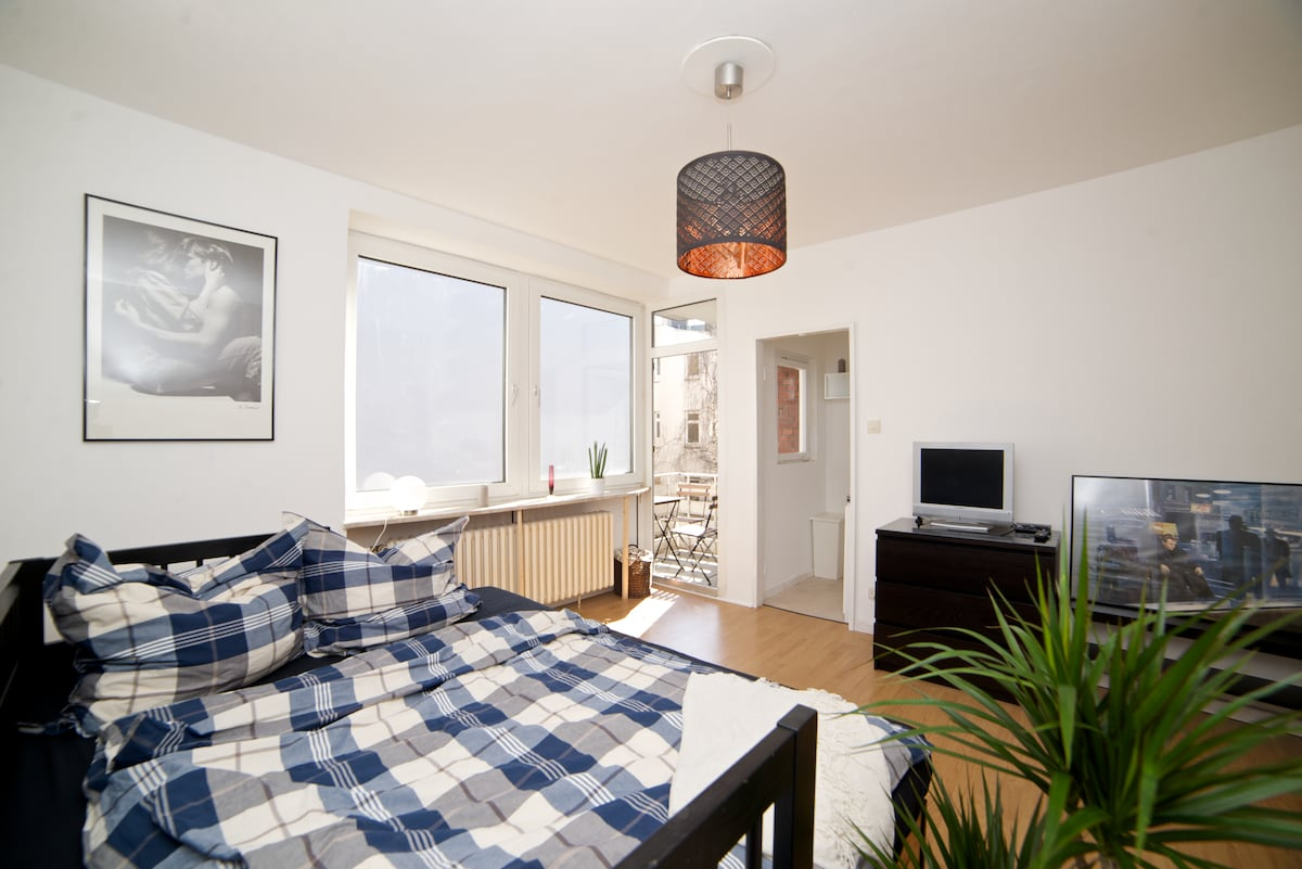 Sunny, cozy flat at a top location
