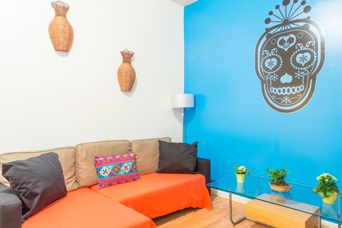 Private one-bedroom apt