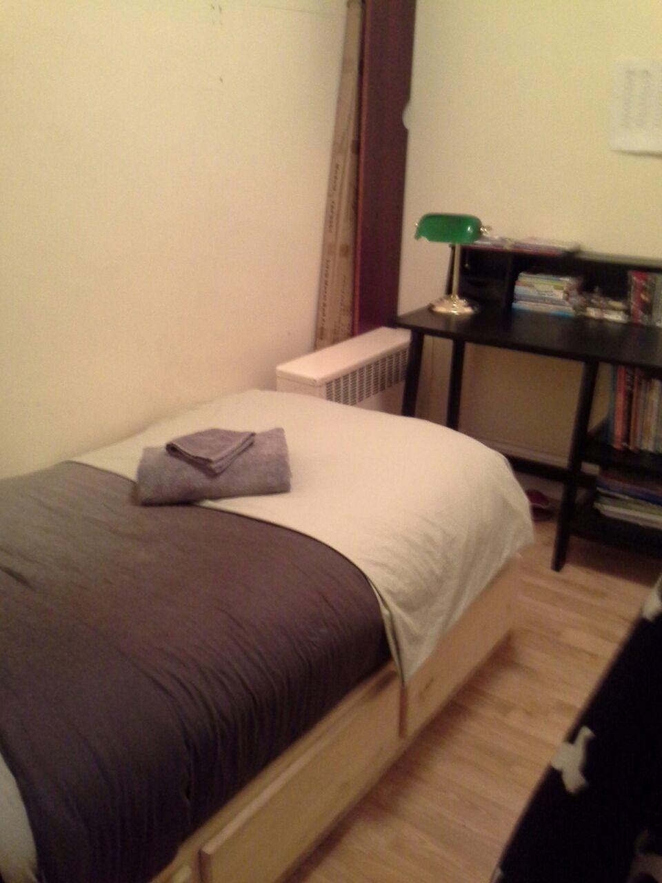 Private bedroom in 3 bdrm apt
