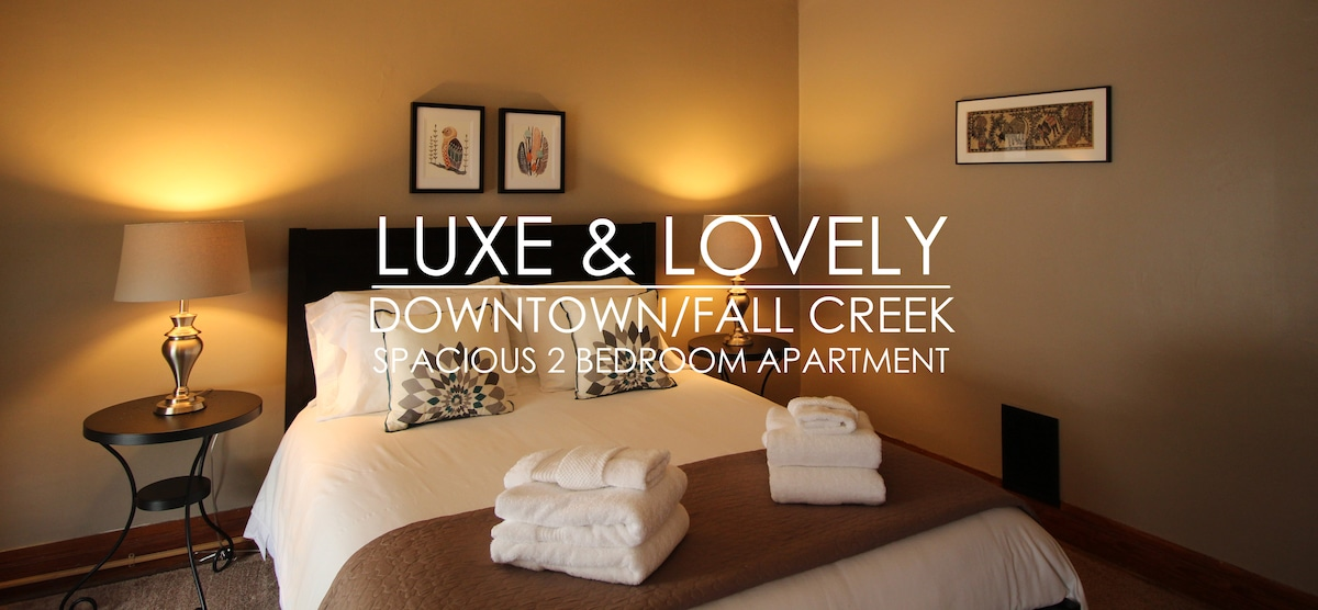 Luxe & Lovely Downtowner 2BR