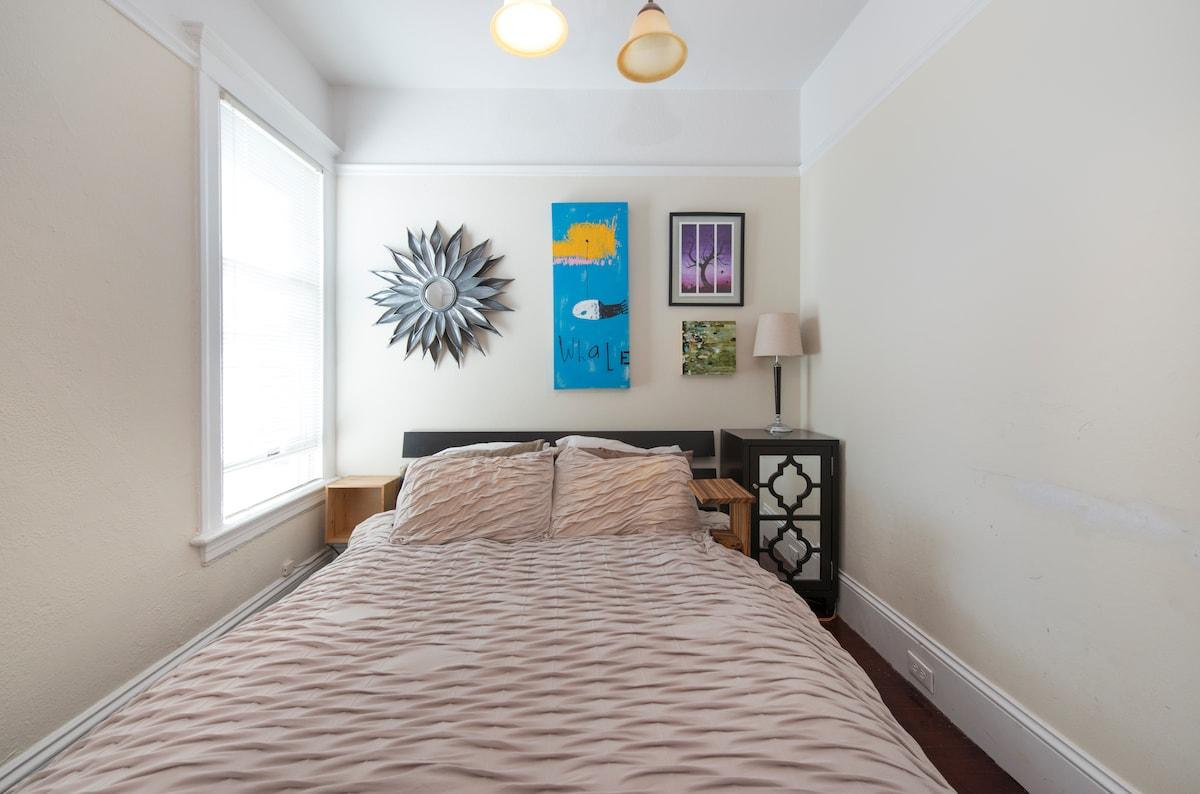 spacious 1 bedroom  apt in NOPA!