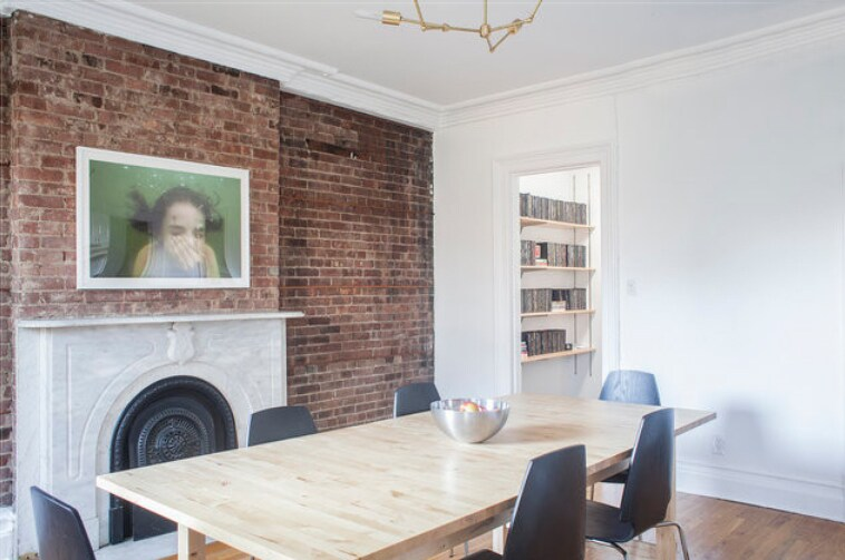 Large, ,light-filled kitchen with big table