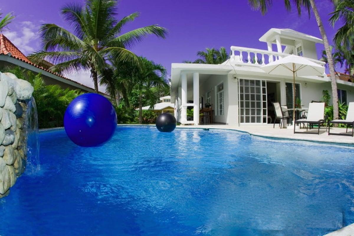 Cabarete Bay Beach House 3 bd Kite