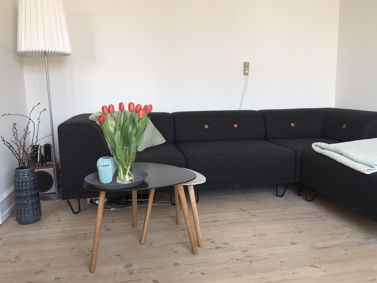 Great apartment on Vesterbro.