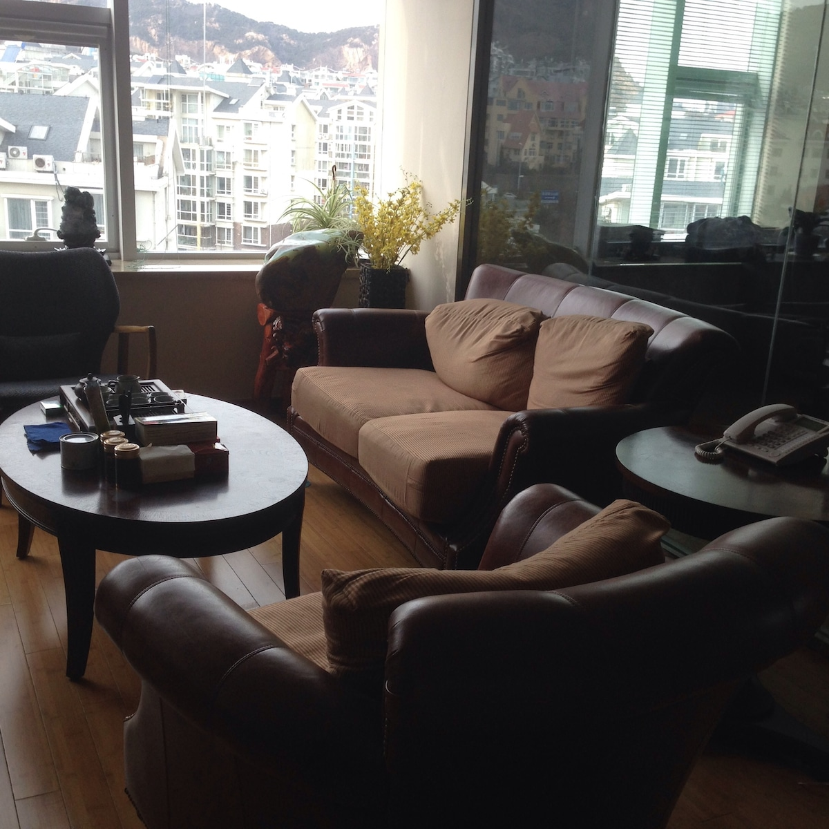 Two room's apartment close to beach