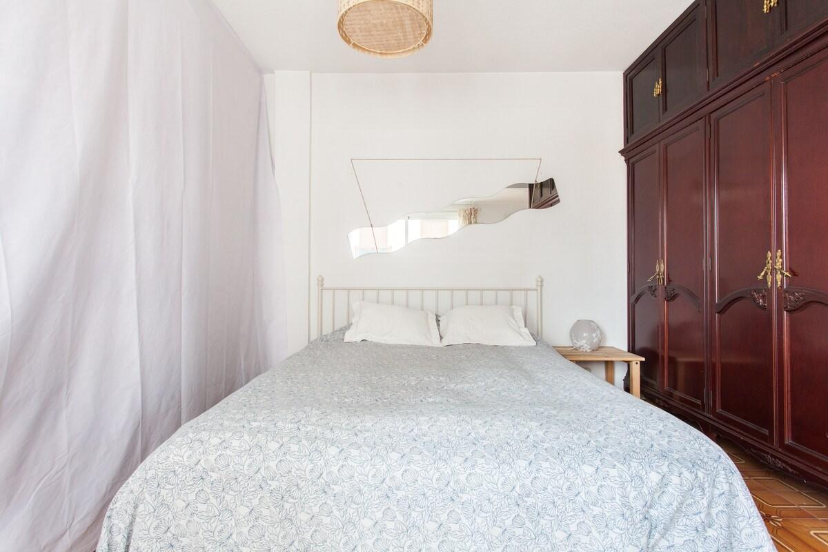 Sunny rooms in Alicante center